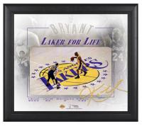 "Kobe Bryant Lakers ""Final Game"" 15x17 Custom Framed Display at PristineAuction.com"