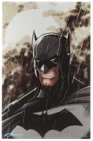 "Tom Hodges - Batman - Signed 11"" x 17"" Print on Metal Sheet (1/1) at PristineAuction.com"