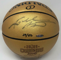 "Kobe Bryant Signed LE ""2009 Champions"" Spalding Basketball (UDA COA) at PristineAuction.com"