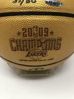 "Kobe Bryant Signed LE ""2009 Champions"" Spalding Basketball (UDA COA) at PristineAuction.com"