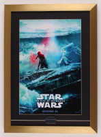 """Star Wars: The Rise of Skywalker"" 16x22 Custom Framed Print Display with Star Wars Opening Night Only Pin at PristineAuction.com"