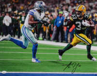 Aaron Jones Signed Packers 16x20 Photo (JSA COA) at PristineAuction.com