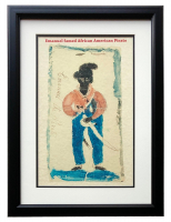 "The Caren Archive ""Samuel 'Black Sam' Bellamy"" 11x14 Custom Framed Lithograph Display at PristineAuction.com"