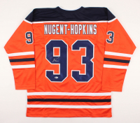 Ryan Nugent-Hopkins Signed Jersey (Beckett COA) at PristineAuction.com