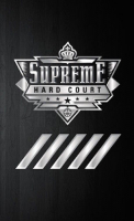 Michael Jordan 2016-17 Upper Deck NBA UDA 5x7 Supreme Hard Court #NBAR-MJ Floor with (4) Game Used Jersey Swatches at PristineAuction.com