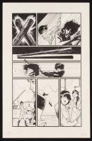 "Tom Hodges - ""Clockwork Lives: The Graphic Novel"" - Signed ORIGINAL 11"" x 17"" Published Comic Art on Paper (1/1) at PristineAuction.com"