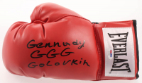 "Gennady Golovkin Signed Everlast Boxing Glove Inscribed ""GGG"" (PSA COA) at PristineAuction.com"