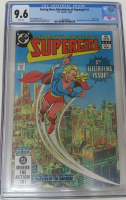 "1982 ""Supergirl"" Issue #1 DC Comic Book (CGC 9.6) at PristineAuction.com"