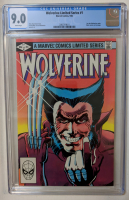 "1982 ""Wolverine"" Issue #1 Marvel Comic Book (CGC 9.0) at PristineAuction.com"