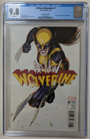 "2016 ""All-New Wolverine"" Issue #1 David Lopez 1:25 Variant Marvel Comic Book (CGC 9.8) at PristineAuction.com"