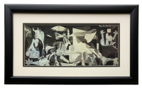 "Pablo Picasso ""Guernica"" 13x23 Custom Framed Print Display at PristineAuction.com"