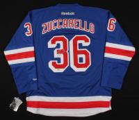 Mats Zuccarello Signed Rangers Jersey (Beckett COA) at PristineAuction.com