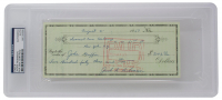 Jackie Robinson Signed 1957 Personal Bank Check (PSA Encapsulated) at PristineAuction.com