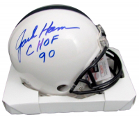 "Jack Ham Signed Penn State Nittany Lions Mini Helmet Inscribed ""CHOF 90"" (JSA COA) at PristineAuction.com"