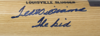 """Ted Williams Signed Louisville Slugger Baseball Bat Inscribed """"The Kid"""" (Beckett LOA) at PristineAuction.com"""