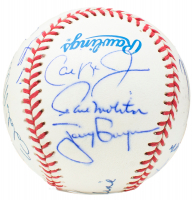 3,000 Hit Club OAL Baseball Signed by (15) with Al Kaline, Pete Rose, Willie Mays (TriStar Hologram) at PristineAuction.com