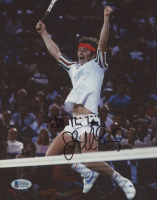 "John McEnroe Signed 8x10 Photo Inscribed ""All The Best"" (Beckett COA) at PristineAuction.com"