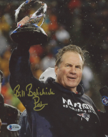 "Bill Belichick Signed Patriots 8x10 Photo Inscribed ""Pats"" (Beckett COA) at PristineAuction.com"