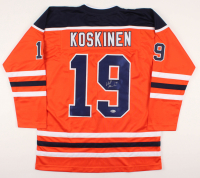 Mikko Koskinen Signed Jersey (Beckett COA) at PristineAuction.com