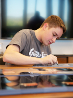 Christopher Bell Signed NASCAR 22x34 Custom #95 Checkered Flag (PA COA) at PristineAuction.com