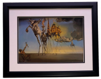 "Salvador Dali ""The Temptation of St. Anthony"" 18x20 Custom Framed Print Display at PristineAuction.com"