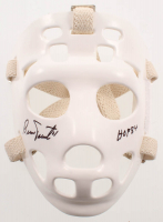 "Bernie Parent Signed Full-Size Throwback Hockey Mask Inscribed ""HOF 84"" (Schwartz COA) at PristineAuction.com"