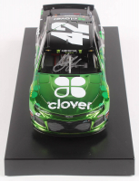 Kyle Larson Signed 2019 NASCAR #42 Clover - Color Chrome - 1:24 Premium Action Diecast Car (PA COA) at PristineAuction.com