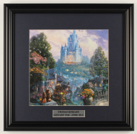 "Thomas Kinkade Walt Disney's ""Cinderella"" 18x18.5 Custom Framed Print Display at PristineAuction.com"