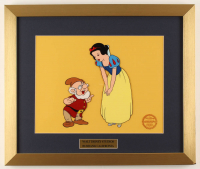 "Walt Disney's ""Snow White & the Seven Dwarfs"" 16x19 Custom Framed Animation Serigraph Display at PristineAuction.com"