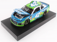 Kyle Larson Signed 2019 NASCAR #42 Advent Health - All-Star Race Win - Raced Version - 1:24 Premium Action Diecast Car (PA COA) at PristineAuction.com