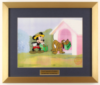 "Walt Disney's ""Mr. Mouse Takes a Trip"" 16x19 Custom Framed Animation Serigraph Display at PristineAuction.com"