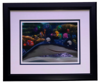 "Finding Nemo ""School of Fish"" 16x18 Custom Framed Photo Display at PristineAuction.com"
