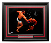 Conor McGregor Signed UFC 22x27 Custom Framed Photo Display (Fanatics Hologram) at PristineAuction.com