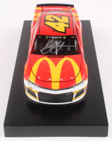 Kyle Larson Signed 2019 NASCAR #42 McDonald's McDelivery - 1:24 Premium Action Diecast Car (PA COA) at PristineAuction.com