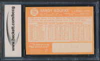 Sandy Koufax 1964 Topps #200 (BCCG 9) at PristineAuction.com