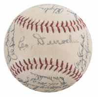 1954 World Series Champions Giants Baseball Team-Signed by (27) with Willie Mays, Monte Irvin, Hoyt Wilhelm (JSA LOA) at PristineAuction.com