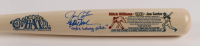 """Joe Carter & Mitch Williams Signed LE Cooperstown Bat Inscribed """"Oops Wrong Pitch"""" (JSA COA) at PristineAuction.com"""
