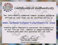 "Dominik Hasek Signed Sabres Jersey Inscribed ""HOF 14"" (Schwartz COA) at PristineAuction.com"