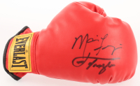 Joe Frazier & Marvis Frazier Signed Everlast Boxing Glove (JSA COA) at PristineAuction.com