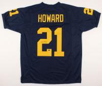 Desmond Howard Signed Jersey (Schwartz COA) at PristineAuction.com