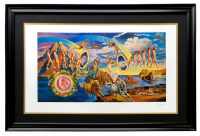 "Joe Garnett ""Full Circle"" 25x38 Custom Framed Print Display at PristineAuction.com"