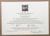 "Joe Garnett ""Full Circle"" 25x38 Custom Framed Print Display at PristineAuction.com"