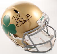 Tim Brown Signed Notre Dame Fighting Irish Full-Size Speed Helmet (Beckett COA) at PristineAuction.com