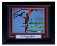 Conor McGregor Signed 11x14 Custom Framed Photo Display (Fanatics Hologram) at PristineAuction.com