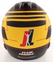 """Joey Logano Signed NASCAR Pennzoil Full-Size Helmet Inscribed """"Sliced Bread"""" (PA COA) at PristineAuction.com"""