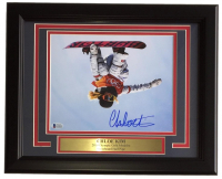 "Chloe Kim Signed ""2018 Olympics"" 11x14 Custom Framed Photo Display (Beckett COA) at PristineAuction.com"