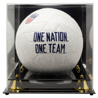 Rose Lavelle Signed Team USA Nike Soccer Ball with Acrylic Display Case (JSA COA) at PristineAuction.com