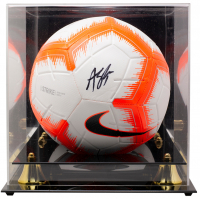 Alyssa Naeher Signed Team USA Nike Soccer Ball with Acrylic Display Case (JSA COA) at PristineAuction.com