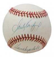 Sandy Koufax & Don Drysdale Signed ONL Baseball (JSA LOA) at PristineAuction.com