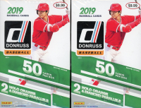 Lot of (2) 2019 Panini Donruss Baseball Hanger Boxes at PristineAuction.com